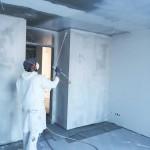 Malerarbeiten Spritzverfahren